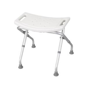 Folding Bath Bench Seat Chair Mobility  Foldable Bathroom Shower White