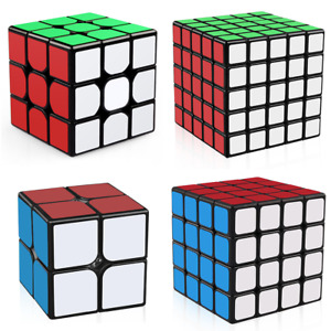 Magic Cube 2x2x2 3x3x3 4x4x4 5x5x5 Super Smooth Speed Cube Puzzle Fast
