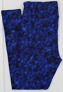 TC LuLaRoe Tall & Curvy Leggings Blue Navy Black Tie Dye NWT F27