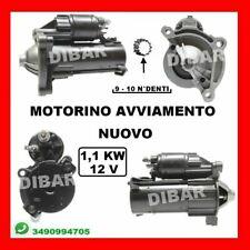 MOTORINO DI AVVIAMENTO NUOVO PEUGEOT 206CC 1.6 16V DA 2000 KW80 CV109 NFU-TU5JP4