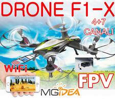 QUADRICOTTERO FPV SMARTPHONE DRONE ACROBATICO F1-X JAMARA WIFI 2,4GHZ TELECAMERA