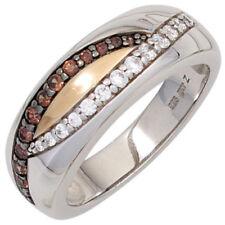 Ringe mit Edelsteinen im Statement-Stil mit Diamant-Sets