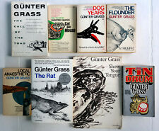 Gunter Grass Lot 8 Pb: Toad, Cat, Dog, Flounder, Anaesthetic, Rat, Tongue, Drum