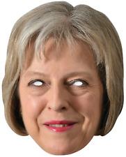Theresa possono e Jeremy Corbyn politici faccia Maschere