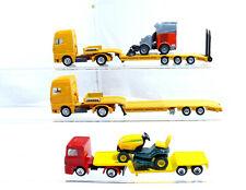 Siku Camion Semi-Remorque + Tracteur Super Série - Balayeuse Hako 5 Pièce
