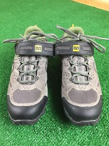 Mavic Mens Size 9.5 USA Cycling Shoe Contagrip Gray 300103 2011 Sz 9 UK W/ Clips