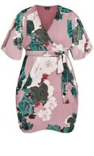 City Chic Maxi Rose Bud Floral Dress - Size XS