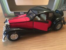 MC Toy Old Timer Bugatti Red and Black in Original Box