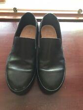 Feit Semi-Cordovan Men's Black Loafers Handmade Modified Goodyear Worn 1x 41/8