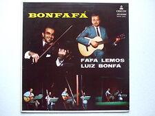 LUIZ BONFA e FAFA LEMOS - BONFAFÁ LP 1st MONO 1958 BRAZIL JAZZ BOSSA NOVA PROMO