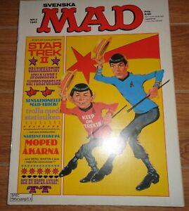 Swedish Mad magazine nr 3 1983 Star Trek