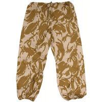 British Army Goretex Pants NATO Waterproof GB Desert Camo Combat Trousers New