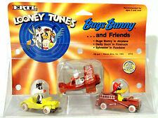 LOONEY TUNES BUGS BUNNY, DAFFY DUCK & SYLVESTER Die-Cast figures.