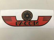Sticker FACOM logo outils outillage vintage industriel indus tableau décoration
