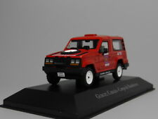 ixo 1:43 Gurgel Carajás Fire truck Diecast car model