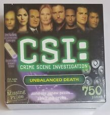 CSI Crime Scene Investigation 750 PIECES Puzzle