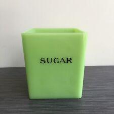 Jeannette Glass Co. Jadite / Jade-ite / Jadeite Sugar Canister 48 Ounce