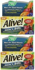 Nature's Way Alive! Mens 50+ OAD - 30 Tablets (Pack of 2)