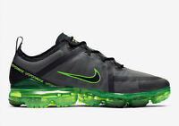 New Nike Air VaporMax 2019 in Black/Black-Scream Green Colour Size 13