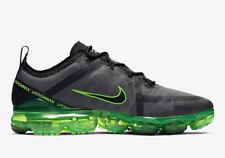 New Nike Air VaporMax 2019 in Black/Black-Scream Green Colour Size 13