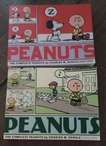 Peanuts The Complete Peanuts By Charles Schulz 1950-1952 And 1953-1954. Soft.