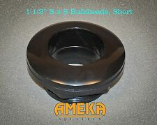"1-1/2"" 1.5"" Slip Bulkhead Fitting, Silicon Washer, Short Stem, High Quality, CPR"
