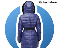 UGG  Ladies Size - Medium Valerie Belted Down Winter Coat Colour : Blue NCT