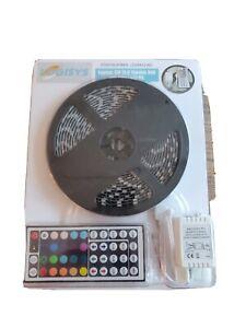 Logisys LDXRM196C 16.5' 12V Flexible RGB LED Strip Light Kit Brand New