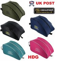HIGHLANDER UNIVERSAL BOOT BAG SHOES TRAVEL HIKE WALK FOOTBALL RUGBY HOCKEY ARMY