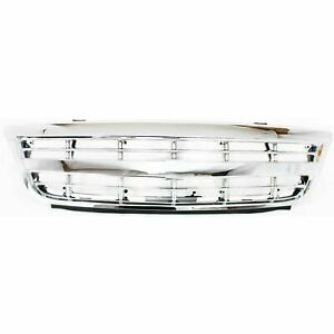 NEW Chrome Grille Assembly For 2001-2005 Chevrolet Venture GM1200460 SHIPS TODAY