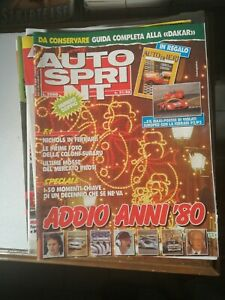 AUTOSPRINT 1990 Annata quasi Completa totale 42 riviste rivista auto formula 1