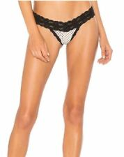 New & Tag  Hanky Panky  SPOT ON CHIFFON LOW RISE THONG 311966  One Size  RRP £39