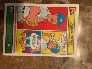 2003 Bazooka Comics #6 of 24 DEREK JETER Yankees NRMT