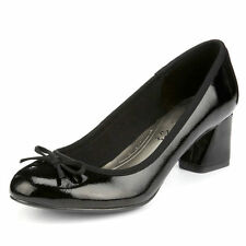 Marks and Spencer Patternless Patent Leather Heels for Women