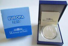 Frankreich 10 Euro 2010 Europa 1100 Jahre Abtei Cluny Silber