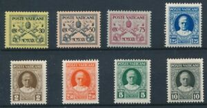 [37531] Vatican 1929 Good lot Very Fine MH stamps