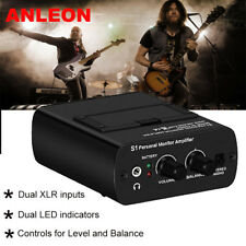 In-Ear Monitor Personal Headphone Amp IEM System For Guitar Player Keyboardist