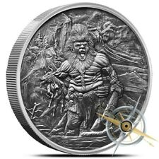 5 OZ Frost Giant Nordic Creatures Antique Edition - 500 Minted - Gift Box & COA