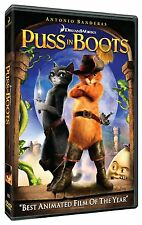 Puss in Boots   **NEW DVD