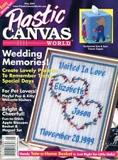 Plastic Canvas World Magazine ~ May 2000, 15 plastic canvas projects