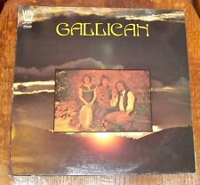 GALLICAN 1979 FRANCE FRENCH ARION 33LP RECORD FOLK JEAN FRANCOIS VERGNAUD SIGNED