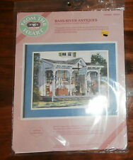 "Bass River Antiques From the Heart Crewel Kit 16"" x 12"" Unopened"