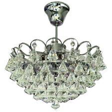 """Deckenleuchte Kronleuchter """"Kaskade""""6-flg. Kristallglas Leuchte Lampe Wohnzimmer"""