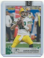 AARON RODGERS SSP 2020 Panini Instant Green 4/10 #155 Powers Packers Comeback