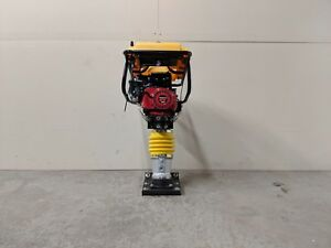 HOC GTR80 HONDA GX160 COMMERCIAL TAMPING RAMMER JUMPING JACK + 3 YEAR WARRANTY