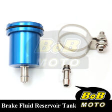 For Suzuki SV 650 S 2002-2012 Blue Racing CNC Rear Brake Fluid Reservoir Tank