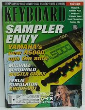Keyboard Magazine Sampler Michael McDonald Mariah Carey Leslie Simulator RARE!