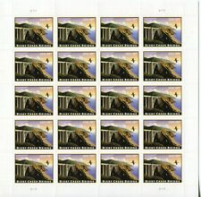 2010 US Scott #4439$18.39 Bixby Creek Bridge Sheet of 20 Stamps