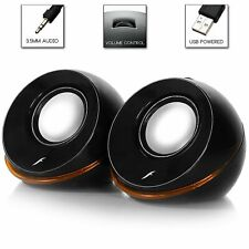 Frisby FS-210NU 2.0 Stereo USB Powered Speakers for Laptops or Desktop Computers