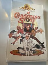 A Christmas Story MGM Family (VHS, 1995) Clamshell/Sealed